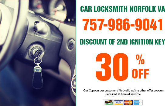 Car Locksmith Norfolk VA Coupon
